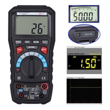 M074 ADM20 6000 TURE RMS autorange digital multimeter DMM USB interface support PC Backlight