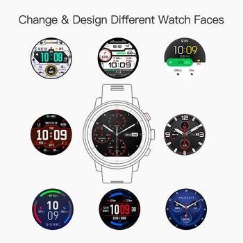 Huami Amazfit Stratos Pace 2 Smartwatch Smart Watch Bluetooth GPS Calorie
