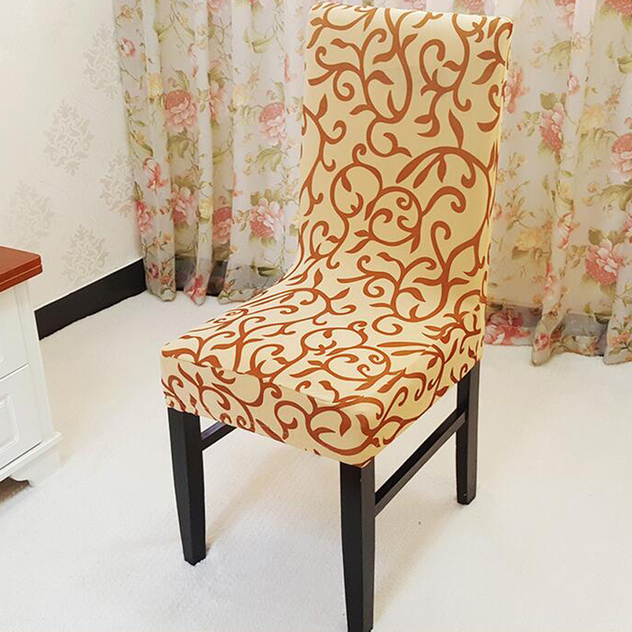 Chair Cover Patterns New 2016 Paddy Stretch Short Removable Dining Room Office Chair Cover Sure Fit Soft Stretch Spandex Pattern Chair Covers In Chair Cover From Home