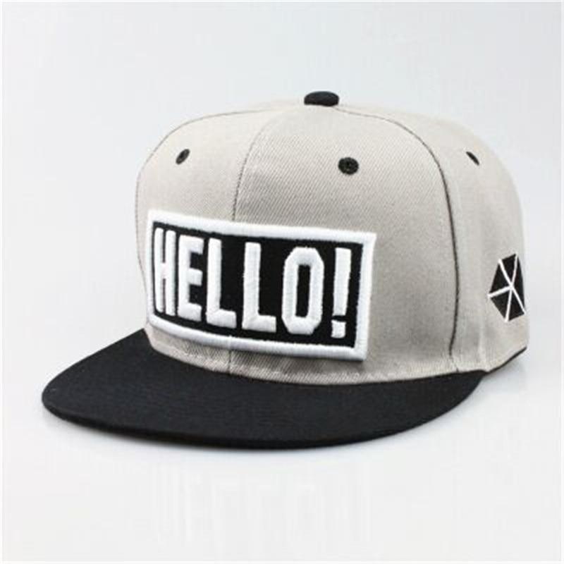 dc78411fe0 HELLO cap 2016 new style brand design embroidered baseball cap Women Men  leisure