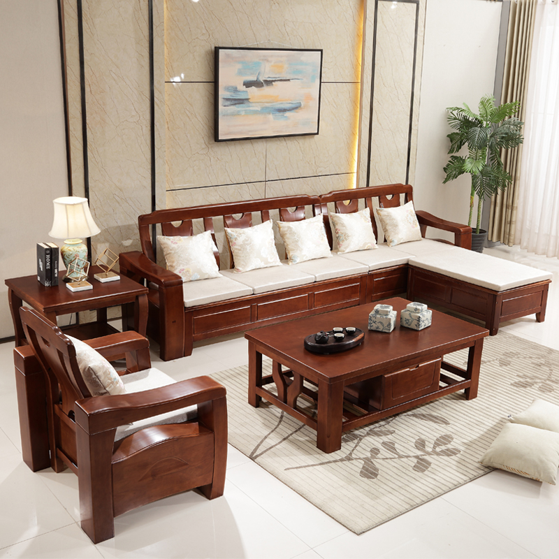 Living Room Sofa With Storage: Furniture Living Room Upscale Storage Combination Sofa-in