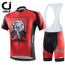 Cheji Brand 2016 Violence Gear Cycling Jerseys Set Bike Clothing