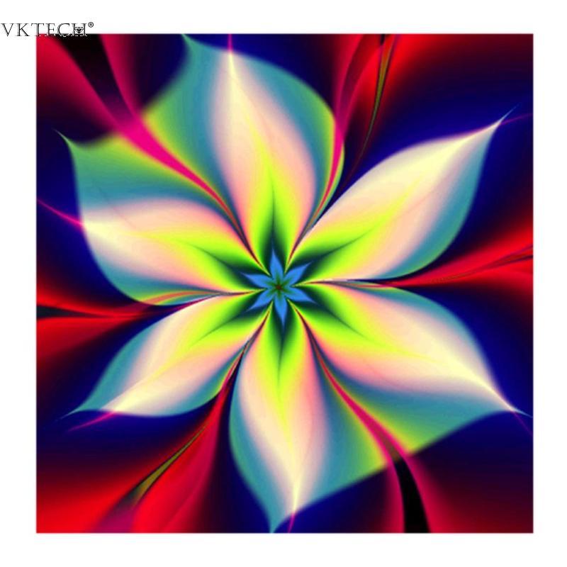 2018 Nueva Dreamly Flower 5D Diamante Pintura Diamante Costura - Artes, artesanía y costura