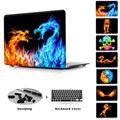 Firedragon Шаблон Crstal Жесткий Футляр Для Macbook Pro 13 15 Retina display печать Ясно Чехол Для Mac Air 13 11 Pro 13 15 Нет сетчатки