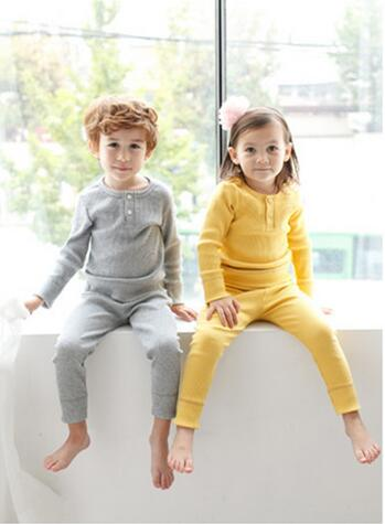 ST280 High quality 2017 children clothing set girl kids night pajama boys pajamas suit green / pink / yellow /  white 5 colors 2015 new arrive super league christmas outfit pajamas for boys kids children suit st 004