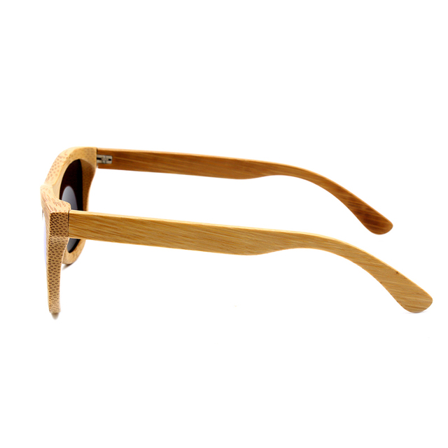 Men Women Bamboo Sunglasses Retro Vintage Wood Lens Wooden Frame Handmade