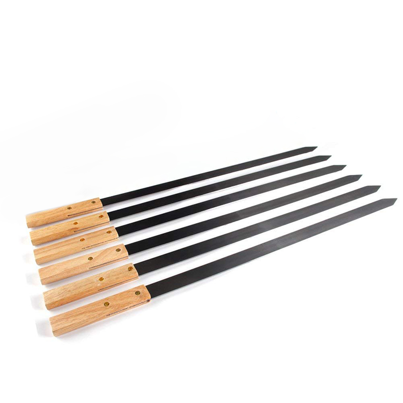 Large Long BBQ Skewers 60cm (6)