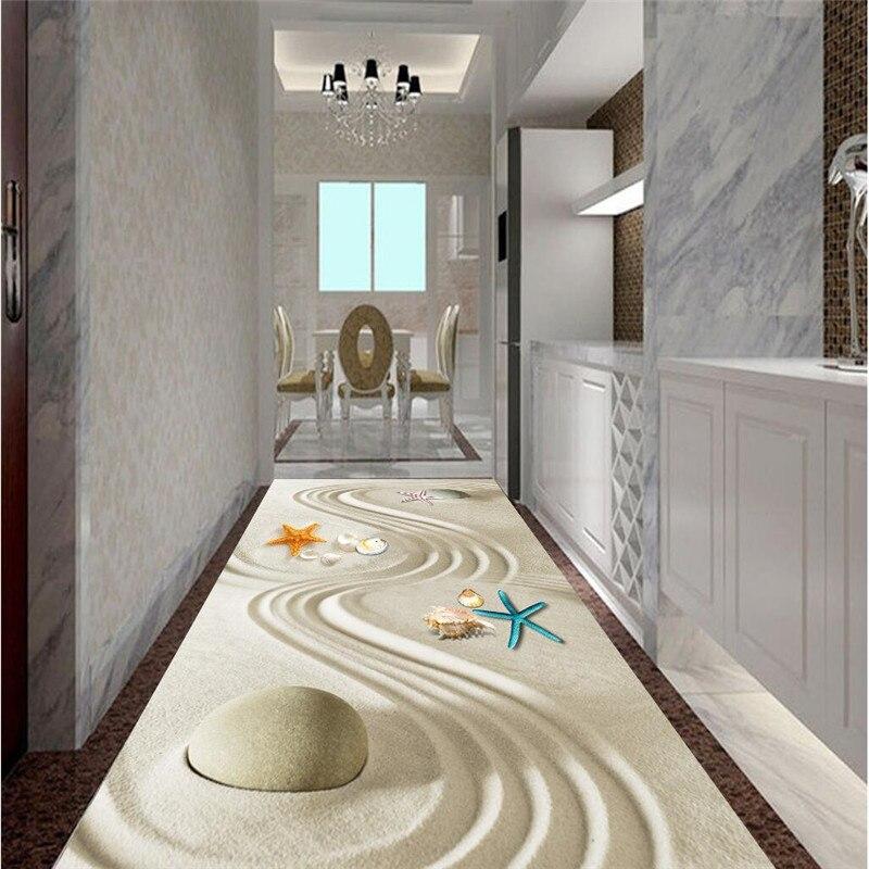 Floor painting hd sand line art bio waterproof bathroom - Waterproof floor paint for bathrooms ...