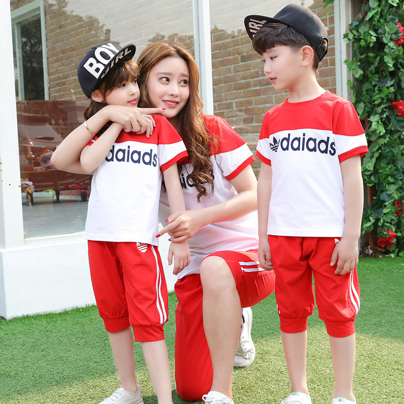 The New Kindergarten Summer Clothing 2016 School Children Class Service Teachers Wear Cotton Wind Uniforms