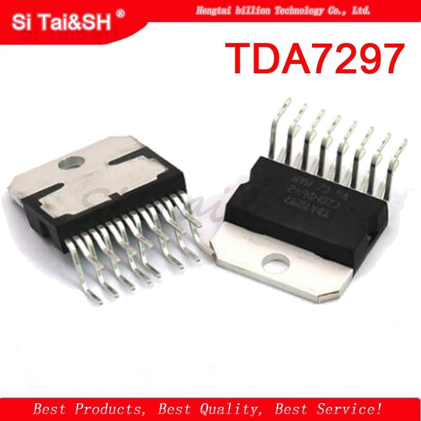 1PCS  TDA7297 ZIP 15W + 15W 12V Single  Amplifier Chip