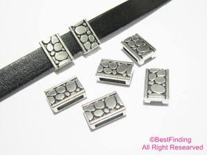 10 мм Φ 10 мм кожаные слайдеры-FF102