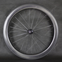 Ceramic Bearing 700c Dimple Wheels 50mm Clincher With Aero Spokes High Quality