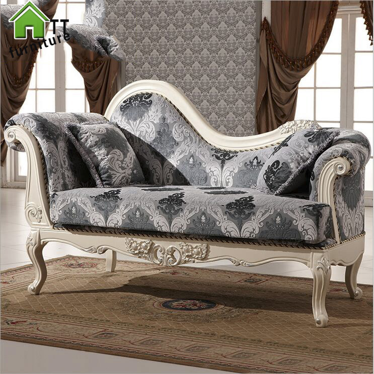 Hot Sale Sofa French Design fabric Couches living room furniture Sofa  chaise lounge pfy10166