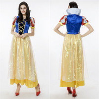 FREE pp Adult Snow White Princess New Fancy Dress Costume Sexy Ladies costume size S XL