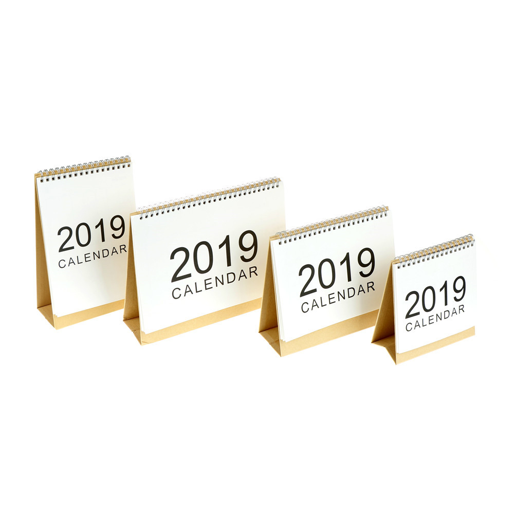 Calendars, Planners & Cards 2019 Simple Style Table Calendar Weekly Planner Monthly Plan To Do List Desk Calendar Daily Desktop Calendar Office & School Supplies