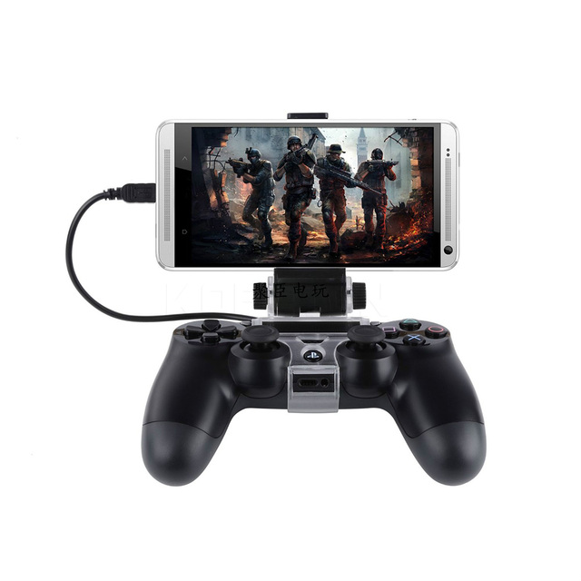 Kebidumei New Arrival Cell Smartphone Game-Holder Controller Clip Clamp Holder For Playstation For PS4 Game Controller