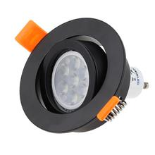 Factory Price Adjustable Surface Mounted Led Ceiling Downlight GU10 MR16 Frame Holders LED Spot Light Fitting Fixture Lamp