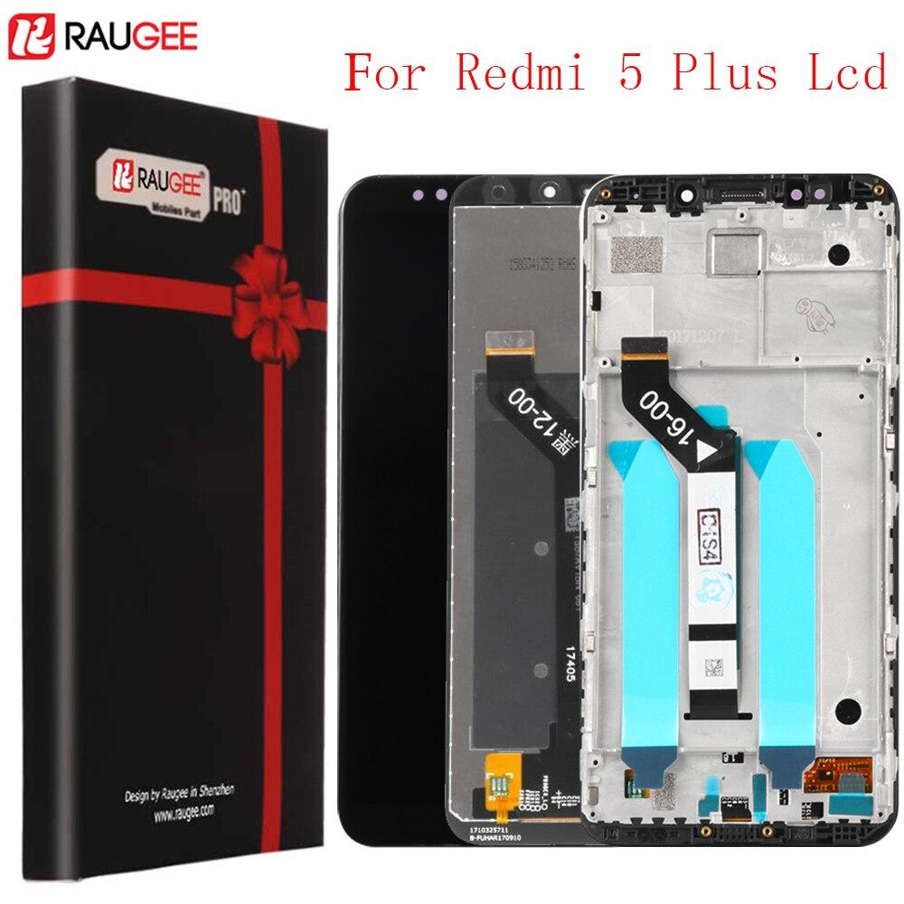 Pour Xiaomi Redmi 5 Plus LCD Écran Testé Écran lcd + Écran Tactile Assemblée Réparation Partie pour Xiaomi Redmi 5 Plus 5.99 pouces