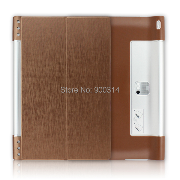 10 PCS Newest Stand Leather Skin High Quality Case Cover For Lenovo Yoga tablet 2 pro 1380F 13.3 Tablet +SCREEN STYLUS