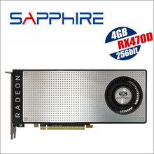 SAPPHIRE Radeon RX 470D 4G 4GB RX470D RX470 256bit GDDR5 desktop gaming graphics cards video card not mining rx570 RX 580 rx 570(China)