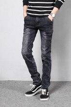 Winter Metrosexual Velveteen Thickened Warm Jeans Joggers Pants Men Jeans Slim Fit Black Jeans Men Pants Famous Brand Clothing