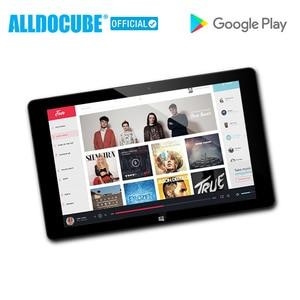 Image 2 - ALLDOCUBE iWork10 Pro Windows Tablet 10.1 inç 4GB RAM 64GB ROM Atom Windows 10 Android 5.1 dört çekirdekli HDMI çift Sys