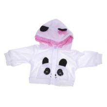 2019 Panda Cartoon Clothes Set Baby Clothes Girl Newborn 18 inch or 23 inch can be choose Reborn Dolls Baby Clothes Girl