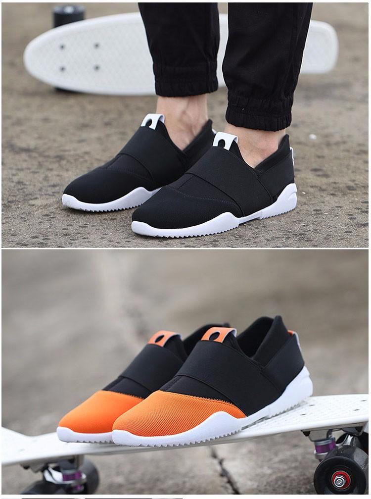 Hellozebra Men Casual Shoes Breathable Board Flats Soft Shoe Set Foot A Pedal Lazy Tide Mesh Students Shoes 2016 Autumn New  (16)