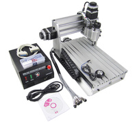 Factory 110 220V 3 Axis CNC Router 3020Z DQ Mini CNC Milling Machine With Ball Screw