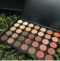 200 unids/lote Al Por Mayor 35 Colores Metallic Shimmer Naturaleza Brillo Sombra de Ojos Paleta de Maquillaje de Sombra de Ojos Kit de Maquillaje Profesional Completo