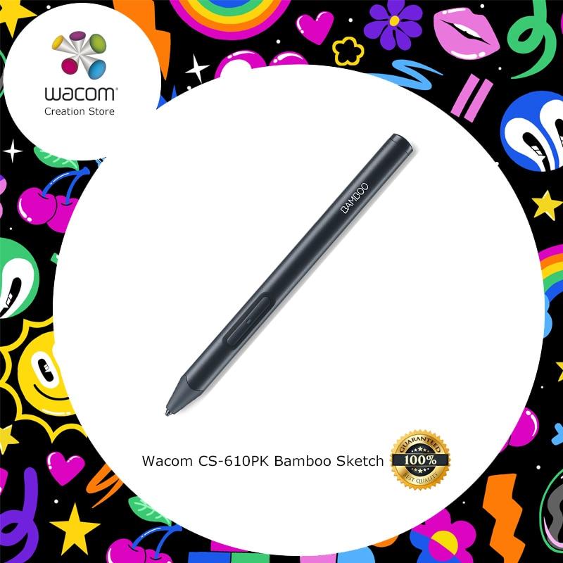 Wacom CS-610PK Bambou Croquis Intelligent Dessin Stylet pour iPhone iPad 2048 Niveaux de Pression