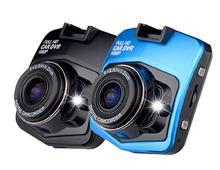 """Cámara del coche de 2.4 """"LCD 1080 P HD Dash Cam Video Recorder Mini Cámara de Visión Nocturna DVR Tacógrafo Con Coche-cargador de coche accesorios"""