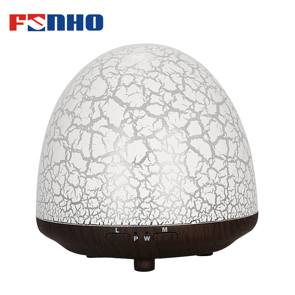 FUNHO Ultrasonic Aroma Humidifier Air Fogger LED Night Lights Mist Maker Smart essential oil Diffuser Aromatherapy For Home1710C remote control air humidifier essential oil diffuser ultrasonic mist maker fogger ultrasonic aroma diffuser atomizer 7 color led