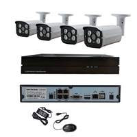 POE 48V Outdoor HD 720P Network 1 0MP Monitoring IP Camera 4CH POE NVR HDD Onivf