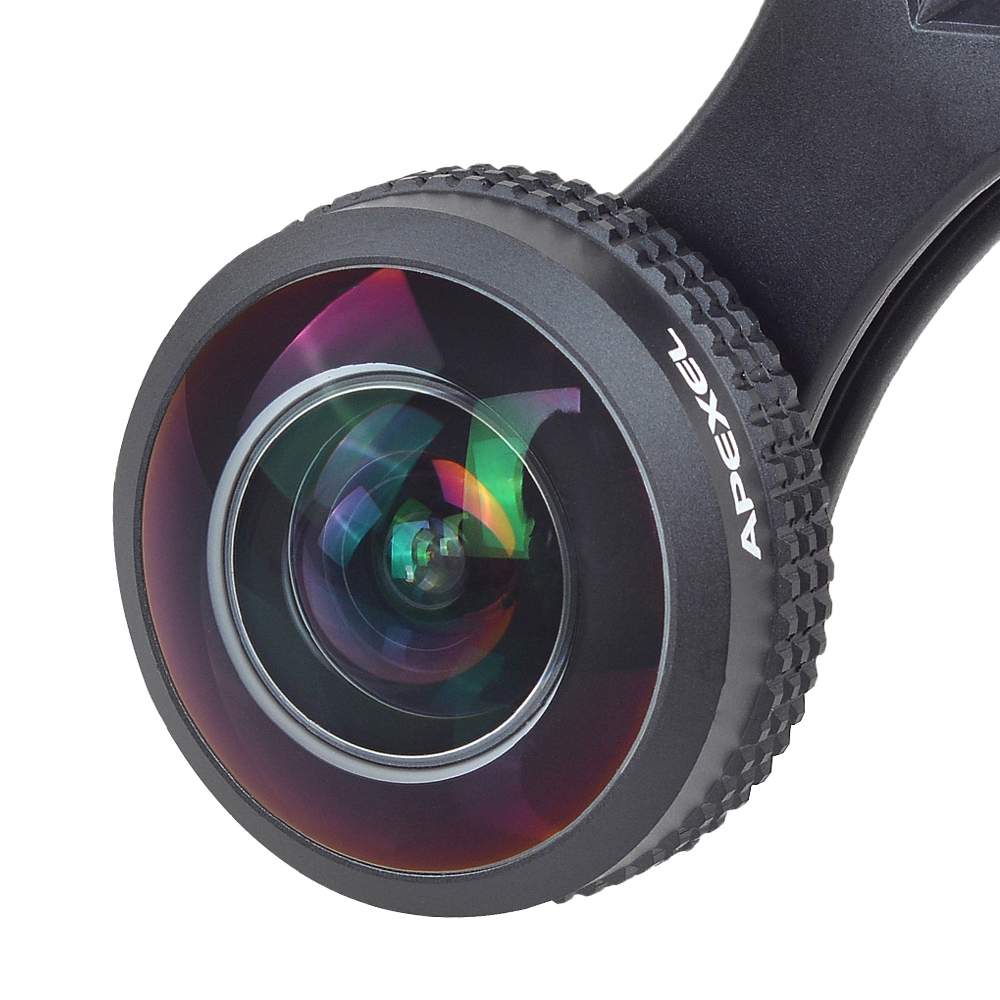 8mm 238 Degree Super Fisheye Lens 0 2X Full Frame Wide Angle Lens for Xiaomi iPhone