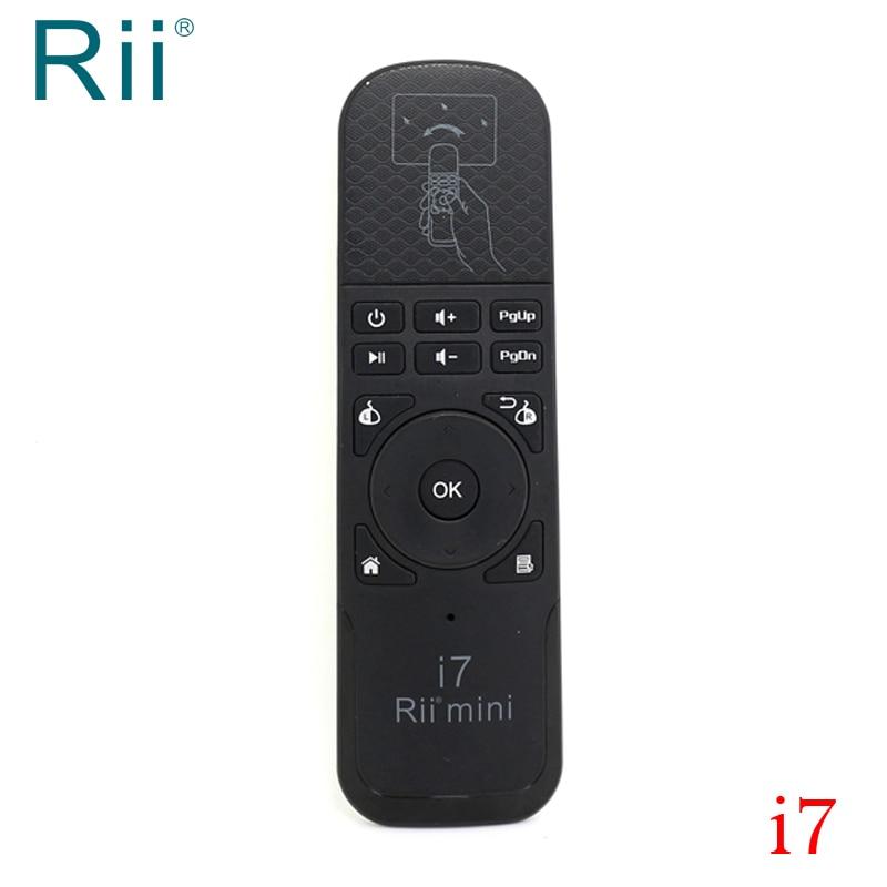Originele Rii I7 Tv Muis 2.4g Draadloze Air Mouse Voor Android Tv Box/mini Pc/projector/ Laptops Hoge Kwaliteit Aantrekkelijke Ontwerpen;