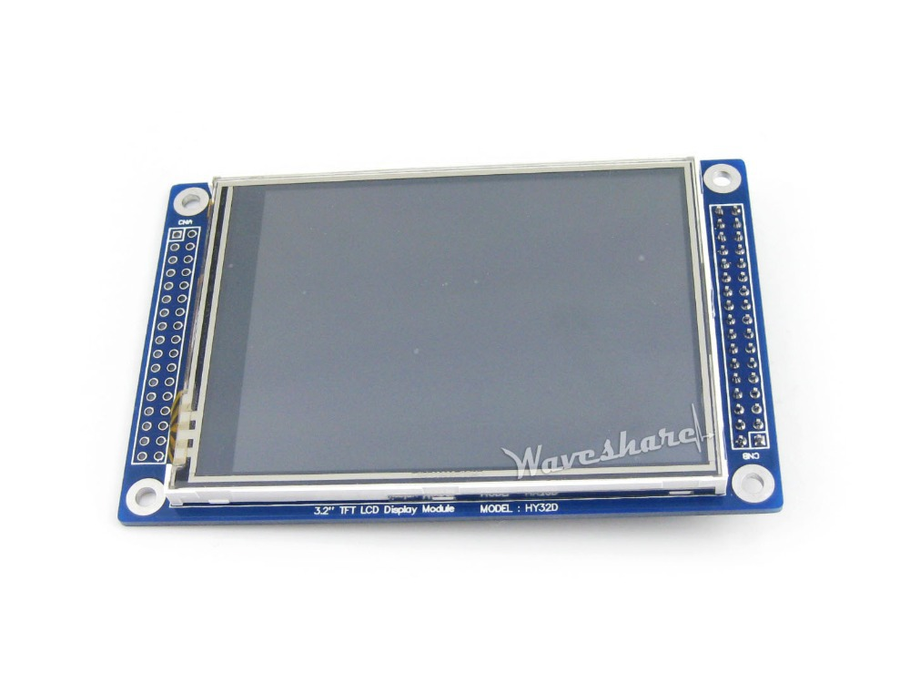 HY32D 3.2 inch 320*240 LCD touch screen Display XPT2046 Touch Screen Controller LCD Controller ILI9325 TFT LCD Display Module
