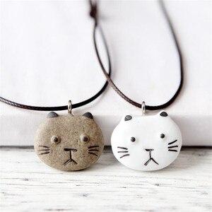 Fashion Design Love Cat Pendan
