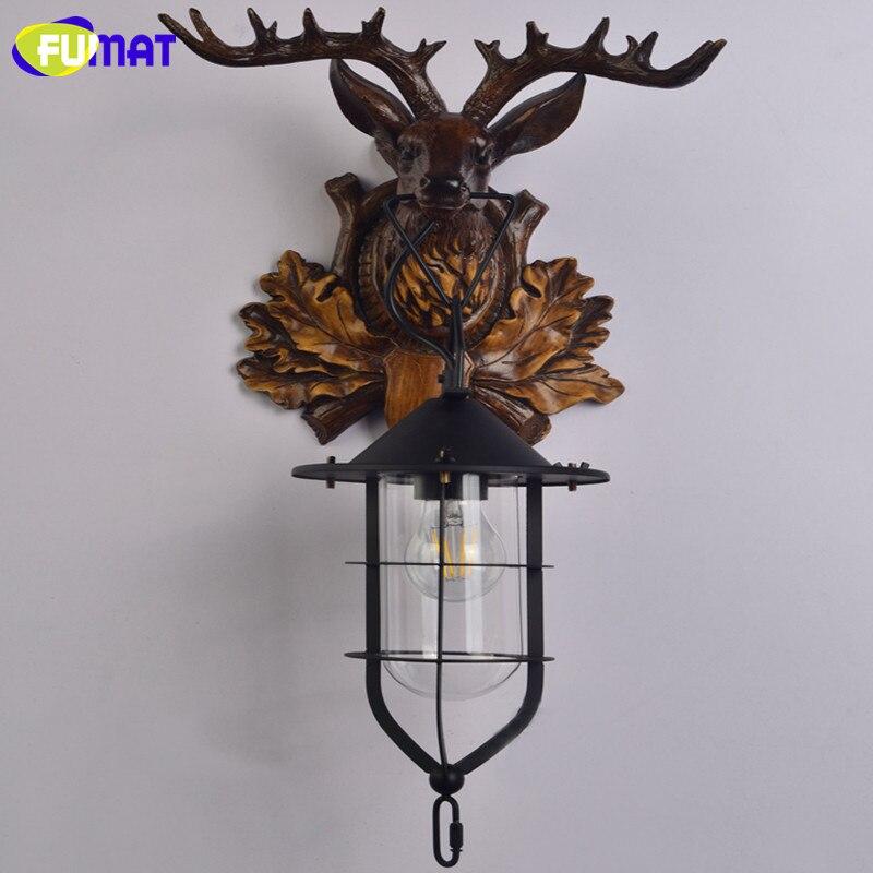 Deer Head Wall Lamp 16