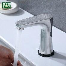 FLG Smart Touch Basin Faucets New Design Stainless Steel Sensor Sensitive Bathroom Faucet Tap Mixer CP1052