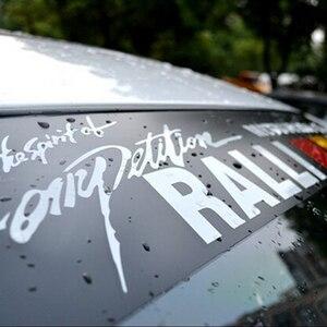 Image 5 - Wasserdicht Auto auto Front Fenster Windschutzscheibe Aufkleber Aufkleber Für Honda Civic Für Camry Für Ford Focus Auto Styling