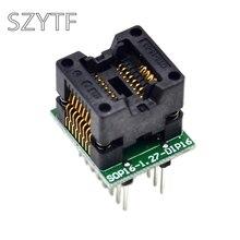 Высокое качество Чип программист SOP16-1.27 гнездо адаптера к DIP16 ots16-1.27-03