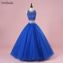 Weilinsha Royal Blue Quinceanera Dresses Ball Gown