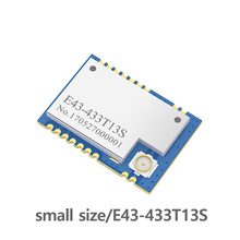E43-433T13S  433MHz RSSI Transceiver SMD Module 13dBm IPEX  UART 433 mhz Low Power Consumption  Transmitter Receiver efr32 868mhz 100mw smd wireless transceiver e76 868m20s long distance 20dbm soc arm 868 mhz transmitter receiver rf module