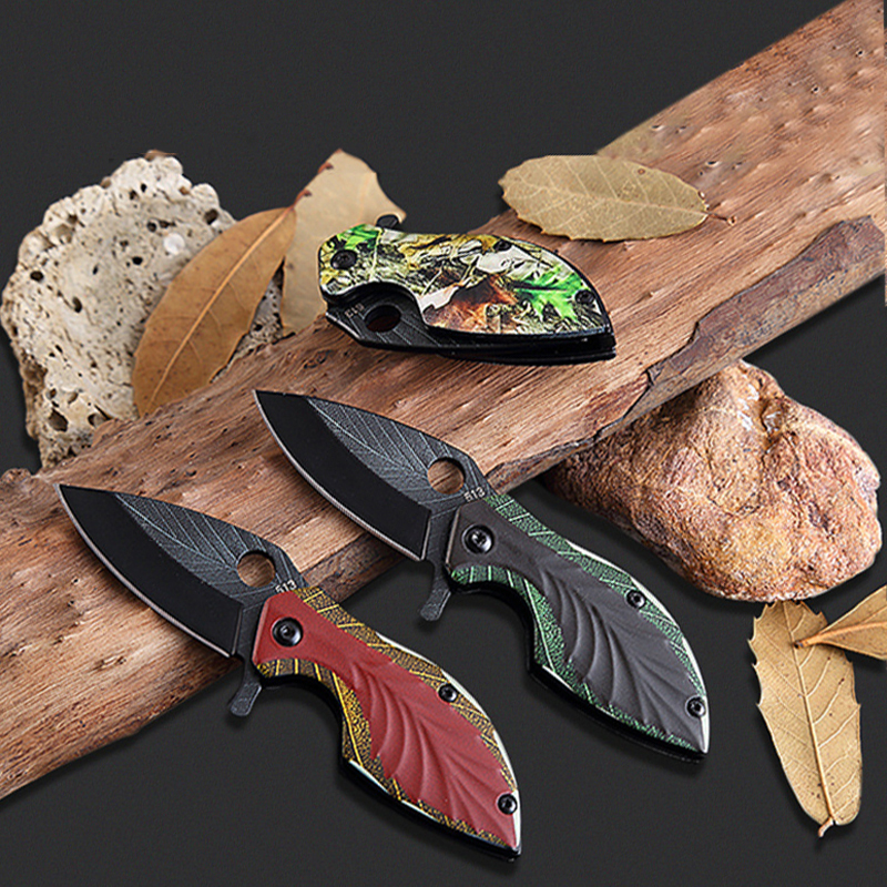 Folding Pocket Knife Mini Portable Camp Outdoor knife Survival Tool Stainless Steel