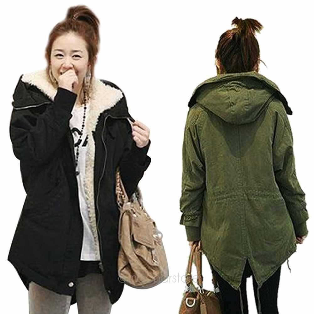 Images of Women Parka Jacket - Reikian