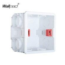 Пластиковая настенная пластина настенное крепление распределительная коробка тип 86 переключатель Кассетная розетка настенная коробка переключателей, корпус смывной коробки