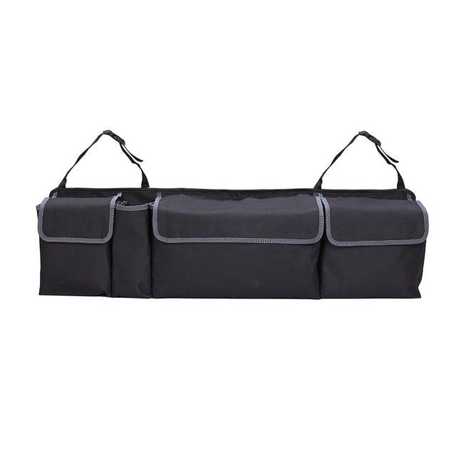 Car Seat Bag Storage Multi Pocket Organizer High Capacity Multi-use Oxford Backseat Storage Bag