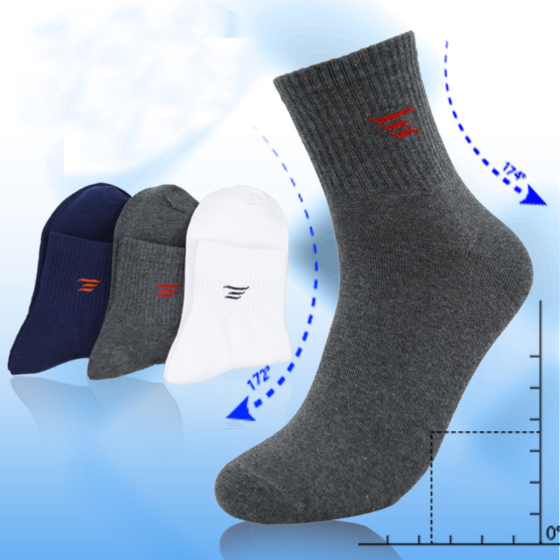 1 Pair Hot Sale High Quality Men Socks Spring / autumn Cotton 6 colors Casual socks Mens socks