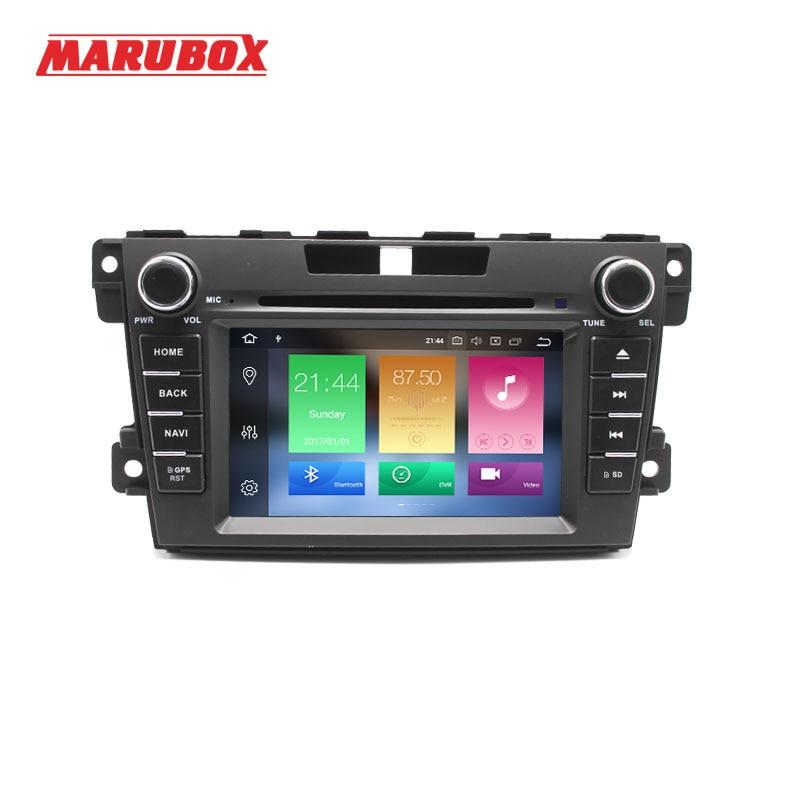 Marubox 2 Din Android Car Radio 4GB RAM For Mazda CX 7 2006 2012 7 IPS